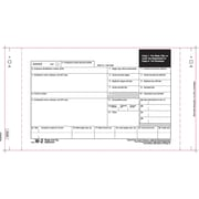 "TOPS® W-2 Tax Form, 3 Part Mailer, White, 10 1/4"" x 5 1/2"", 100 Forms"