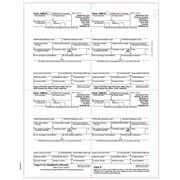 "TOPS® 1099R Tax Form, 1 Part, Continuous, White, 8 1/2"" x 11"", 2000 Sheets Per Carton"