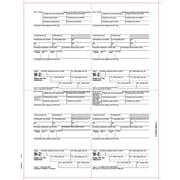 "TOPS® W-2 Tax Form, 1 Part, Employee's copies cut sheet, 24 lb, White, 8 1/2"" x 11"", 50 Sheets/Pack"