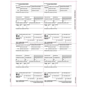 "TOPS® W-2 Tax Form, 1 Part, Employer copies cut sheet, White, 8 1/2"" x 11"", 50 Sheets/Pack"