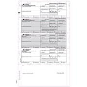 "TOPS® W2 Tax Form, 1 Part, White, 9 1/2"" x 14"", 2000 Sheets Per Carton"