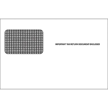 TOPS Gummed Single Window Envelope for LW2PR Tax Form, 24 lb., White, 5 5/8in. x 9in., 100/Pack