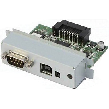Epson® C823893 Print Server, 4 Pin USB Type A, Serial - 9 Pin D-Sub (DB-9)