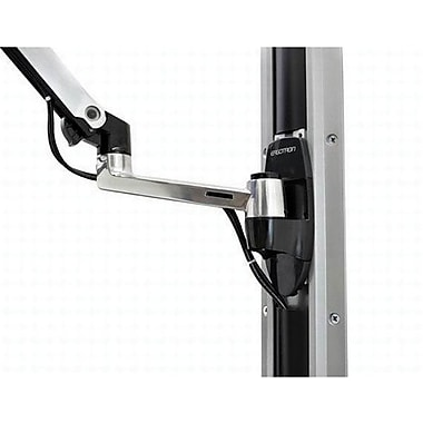 Ergotron® 45246026 LX Wall Mount Arm, Up To 5 lbs.