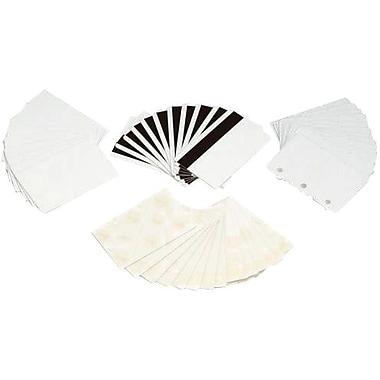 Zebra® 104523-111 Premier Blank Card, White