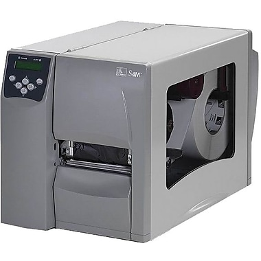 Zebra® S4M™ Series Printer, 6 ips Speed, Peel Facility
