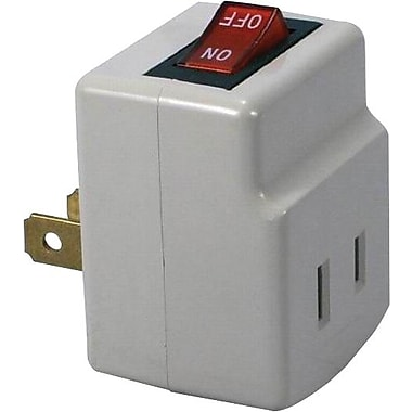 QVS® Single Port Power Adapter, 2 Prong
