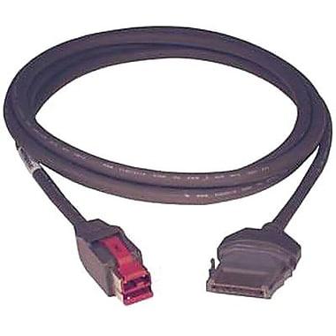 Epson® CEPS-6PUSBG Data/Power Cord, Dark Gray, 6'(L)