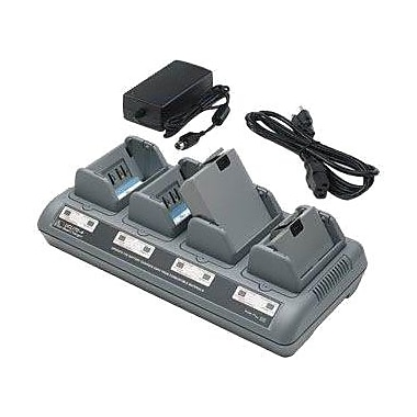 Zebra® AC18177-5 Quad Charger For QL 220, QL 220 Plus, QL 320, QL 320 Plus Printers