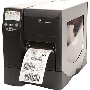 Zebra® Z Series® ZM400 Series Printer, Ethernet USB 2.0 Interface