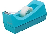 Scotch® Jewel Pop Desktop Tape Dispenser, Blue