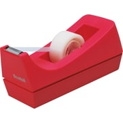 Scotch® Jewel Pop Desktop Tape Dispenser, Pink