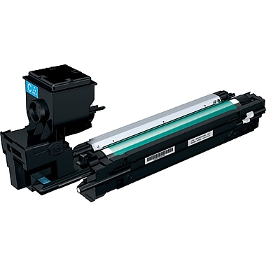 Konica Minolta MC3730 Cyan Toner Cartridge (A0WG0HF), Standard