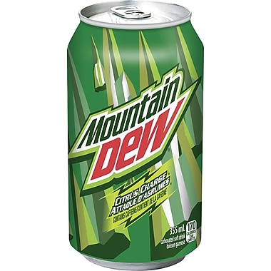 Mountain Dew – Canettes de 355 ml, paq./12
