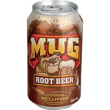 Mug Root Beer, 355 mL Cans, 12-Pack