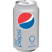 Diet Pepsi Cola, 355 mL Cans, 24-Pack