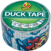 Duck Tape® Brand Duct Tape, Graffiti, 1.88x 10 Yards