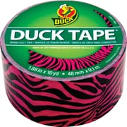 "Duck Tape® Brand Duct Tape, Pink and Black Zebra, 1.88""x 10 Yards"