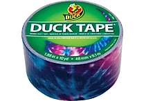 Duck Tape® Brand Duct Tape, Totally Tie-Dye™, 1.88' x 10 Yards
