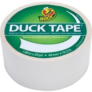 "Duck Tape® Brand Duct Tape, Winking White™, 1.88"" x 20 Yards"