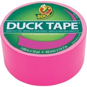 Duck Tape® Brand Duct Tape, Funky Flamingo X-Factor™, 1.88 x 15 Yards