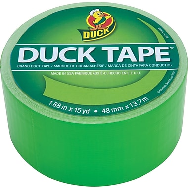 Duck Tape® Brand Duct Tape Island Lime X-Factor™, Neon Green, 1.88in. x 15 Yards