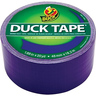 Duck Tape® Brand Duct Tape, Purple Duchess™, 1.88