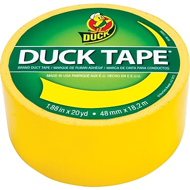 Duck Tape® Brand Duct Tape, Sunburst Yellow, 1.88in. x 20 Yards