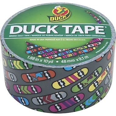 Duck Tape® Brand Duct Tape, Skateboard, 1.88in.x 10 Yards