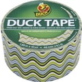 Duck Tape® Brand Duct Tape, Wavy Green, 1.88in.x 10 Yards