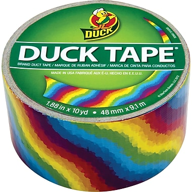 Duck Tape® Brand Duct Tape, Rainbow, 1.88in.x 10 Yards