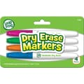 LeapFrog Washable Dry Erase Markers, Assorted Colors, 4/Pk