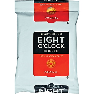 Eight O'Clock Original Roast Ground Coffee, Regular, 2 oz., 42 Packets