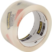 Scotch® Moving and Storage Tape, Clear, 1.88 x 54.6 yds, 3 Rolls