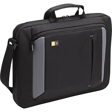 Case Logic 16in. Laptop Attache, Black/Grey