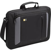 "Case Logic 16"" Laptop Attache, Black/Grey"