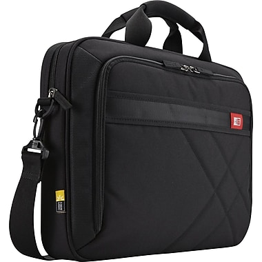 Case Logic 15.6in. Laptop and Tablet Briefcase, Black