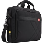 Case Logic 15.6 Laptop and Tablet Briefcase, Black