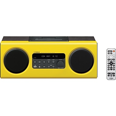 Yamaha TSX-112 Desktop Audio System, Yellow