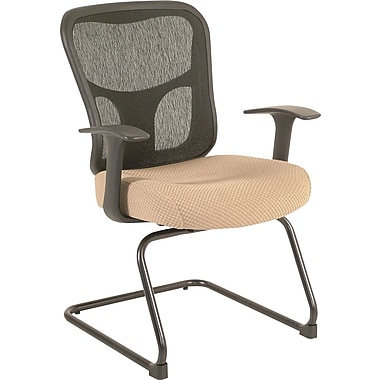 Tempur-Pedic® TP8100 Ergonomic Mid-Back Guest Chair, Beige