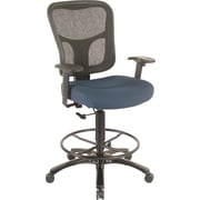 Tempur-Pedic® TP8200 Ergonomic Fabric Mid-Back Drafting Stool, Navy