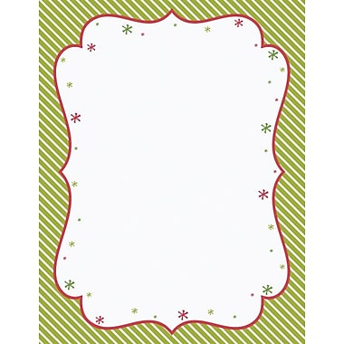 Great Papers® Peppermint Twist Stationery