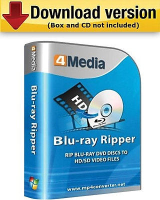 4Media Blu Ray Ripper for Windows (1-User) [Download] 954271