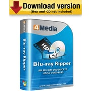 4Media Blu Ray Ripper for Windows (1-User) [Download]