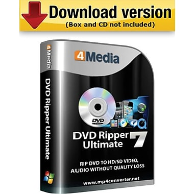 4Media DVD Ripper Ultimate for Windows (1-User) [Download]