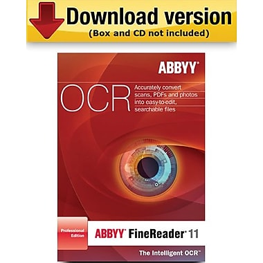 ABBYY FineReader 11 Professional Edition for Windows (1-User) [Download]