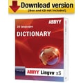 ABBYY Lingvo X5: Russian to 20 Languages Dictionary Upgrade for Windows (1-User) [Download]