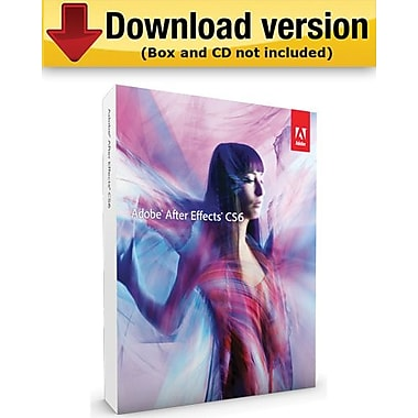 Adobe After Effects CS6 for Mac (1-User) [Download]