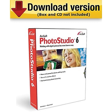 ArcSoft PhotoStudio 6 for Windows (1-User) [Download]