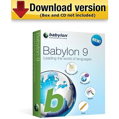 Babylon 9 for Windows (1-User) [Download]